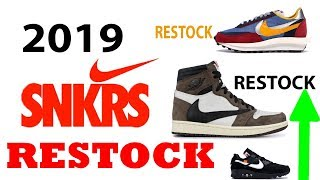 SNKRS Day: Limited RESTOCKS \u0026 How to