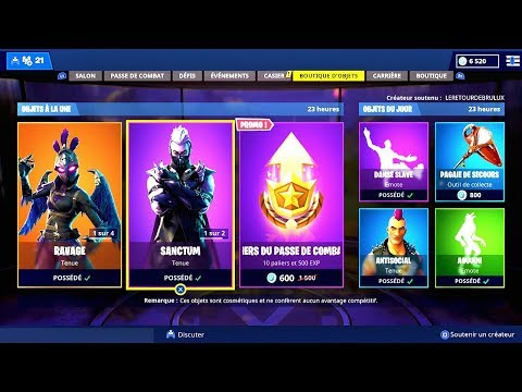 BOUTIQUE FORTNITE du 28 Novembre 2018 ! - ITEM SHOP November 28 2018