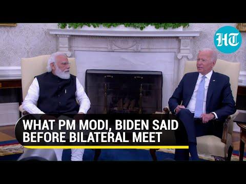 Watch: PM Modi, Joe Biden's full media address before bilateral talks on India-US ties