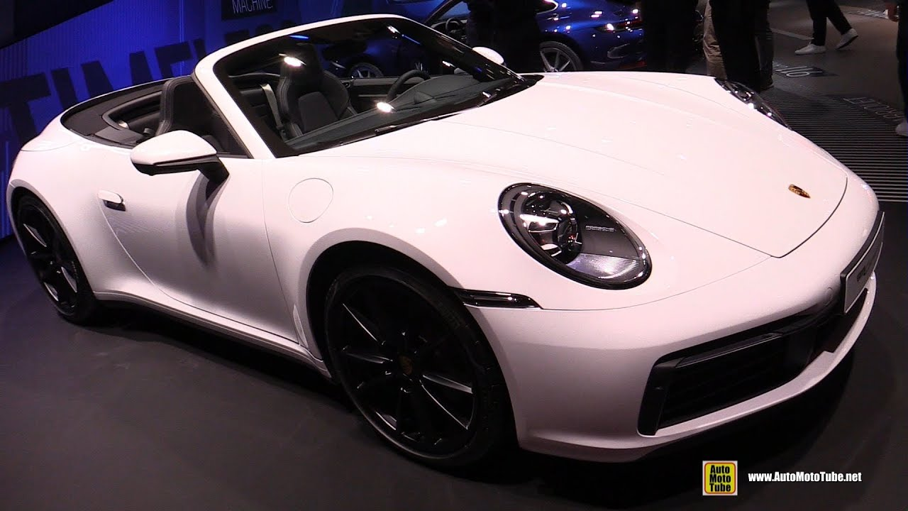 2020 Porsche 911 Carrera 4 992 - Exterior and Interior Walkaround - 2019 Frankfurt Motor Show