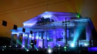 Новогоднее лазерно-световое шоу в Санкт-петербурге в HD