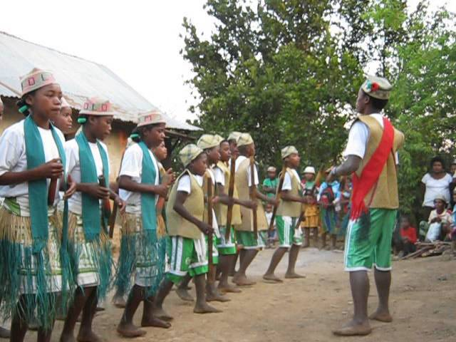 Ranomafana, Madagascar Traditional Dance