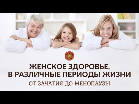 Женское здоровье, в различные периоды жизни.От зачатия до менопаузы.