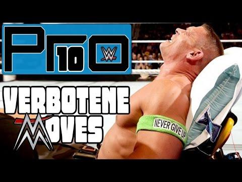 DIE 10 GEFÄHRLICHSTEN VON DER WWE VERBOTENEN MOVES (Teil 1) - Pro10 #17 (Deutsch/German)