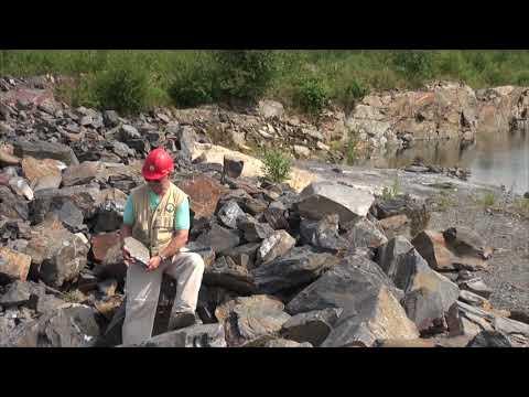MB GeoTour 34 – Precambrian Phyllite Quarry 2014