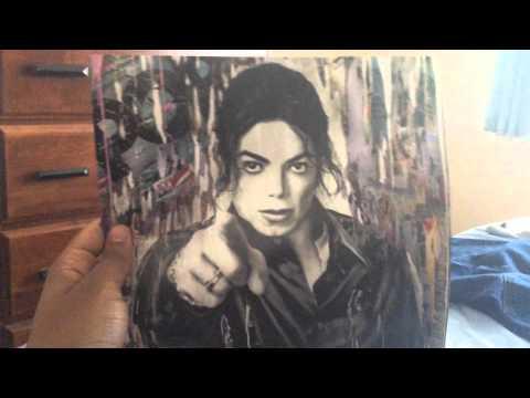 Michael Jackson XSCAPE Vinyl Unboxing