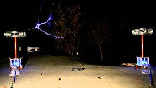 """In the Hall of the Mountain King"" - Played on Musical Tesla Coils"