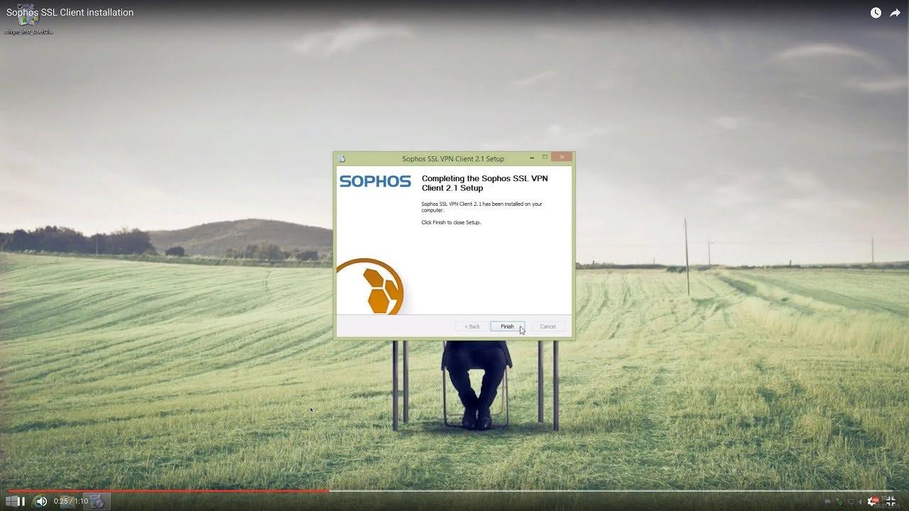 How to - Sophos SSL VPN Client installation