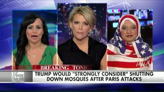 Donald Trump's comments spark debate on American mosques