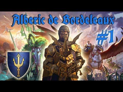 Alberic de Bordeleaux Mortal Empires Campaign #1 | THE KNIGHTS OF BRETONNIA