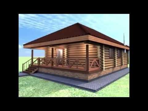 ООО ДревПроектСтрой проект дома из оцилиндрованного бревна 280 мм.