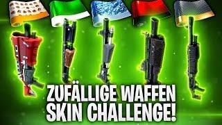 ZUFÄLLIGE WAFFEN SKIN CHALLENGE! 🥇 | Fortnite: Battle Royale