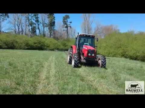 Spraying Hay Fields