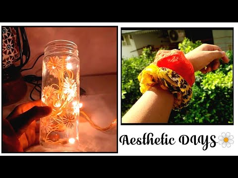 Aesthetic DIYs 🌼   DIY scrunchies    DIY room decor ...