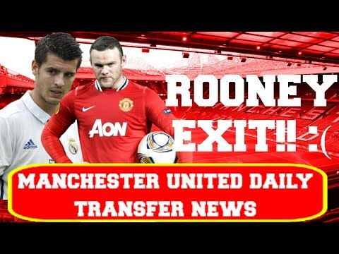 |MORATA BY FRIDAY| |PERISIC NEW BID| |ROONEY TO LEAVE| |MANCHESTER UNITED| |DAILY TRANSFER NEWS|