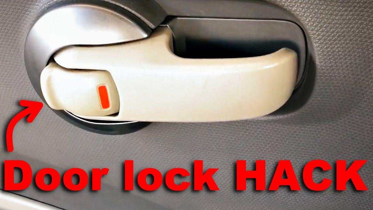 Fix My Car >> Nissan Micra/March,Tiida,Maxima, doorlock Hack | repair ...