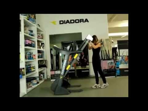 Διάδρομος Diadora Radio 50 Hrc - YourGym.gr TV