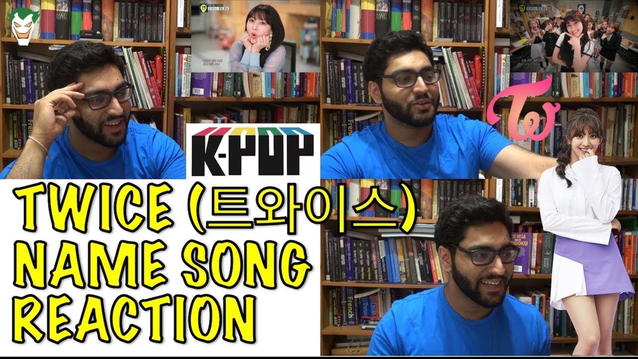 Twice Twice Name Song Reaction