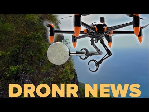 Drone discovers very rare plant in HAWAII!