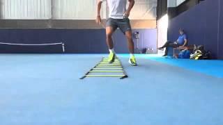 Rafael Nadal's training session in Mallorca before Abu Dhabi Exho - Dec 2015