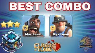 SÁT THỦ MẶT ĐẤT CLEAR GẦN 20 BASE TRONG 1 WAR - TOWN HALL 13 ATTACK Clash of clans | Akari Gaming