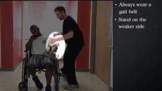 Caregiver/Family Training: Sitting and Standing