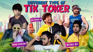 DIFFERENT TYPE OF TIKTOKERS || HUNNY SHARMA ||