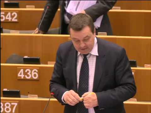 Mark Demesmaeker in debat met Mevr. Ashton over buitenlands beleid EU.