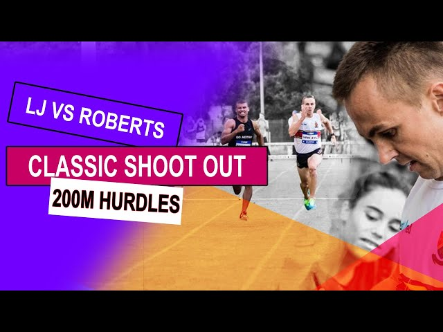 Roberts give Van Zyl a run for his money