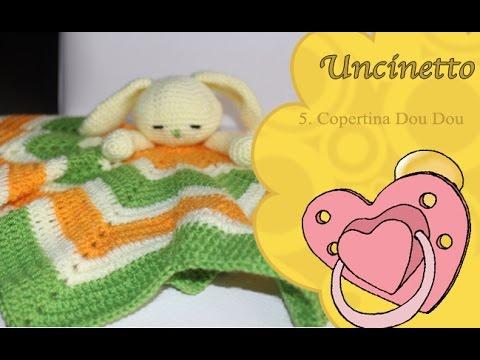 Uncinetto bimbi: Copertina Dou Dou coniglioDou Dou rabbit cover