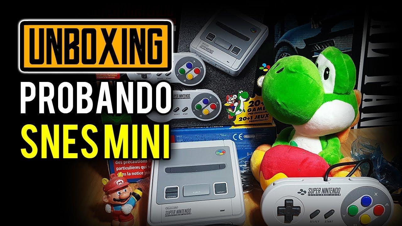 Probando Varios Juegos De Snes Mini Y Unboxing De La Consola
