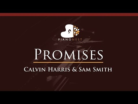 Calvin Harris, Sam Smith - Promises - HIGHER Key (Piano Karaoke / Sing Along)