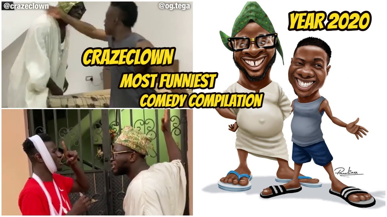 Download Crazeclown Comedy Compilation (latest Dr.Craze Comedy 2020 ft Nastyblaq, Speed Darlington and More)