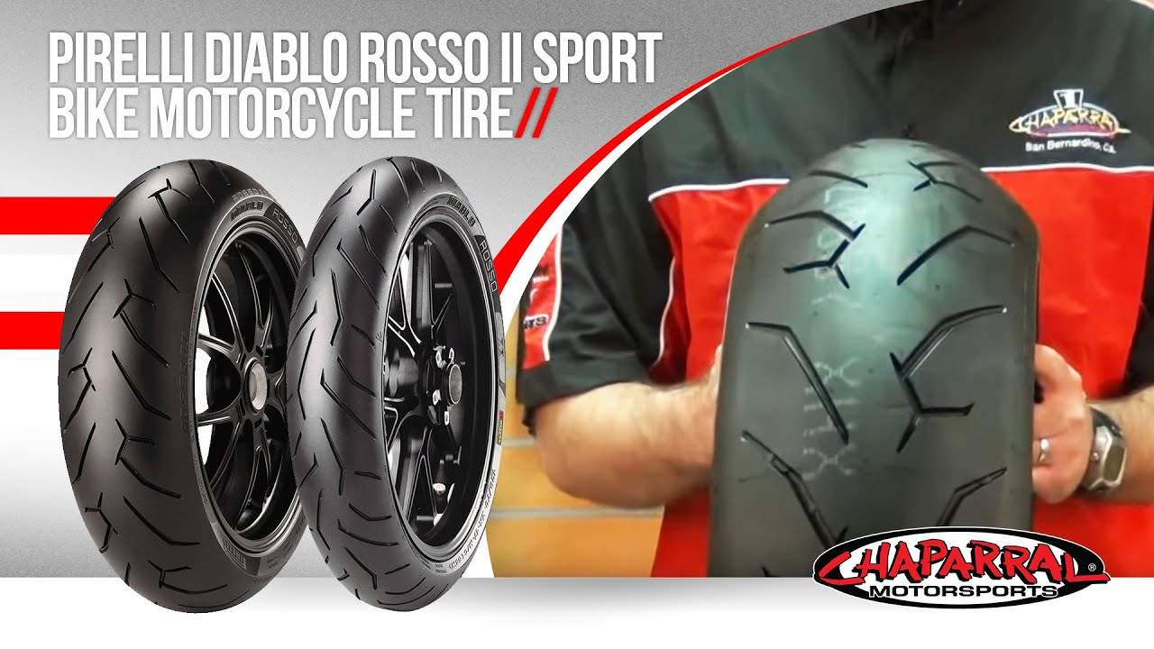 pirelli diablo rosso ii sport bike motorcycle tire youtube. Black Bedroom Furniture Sets. Home Design Ideas