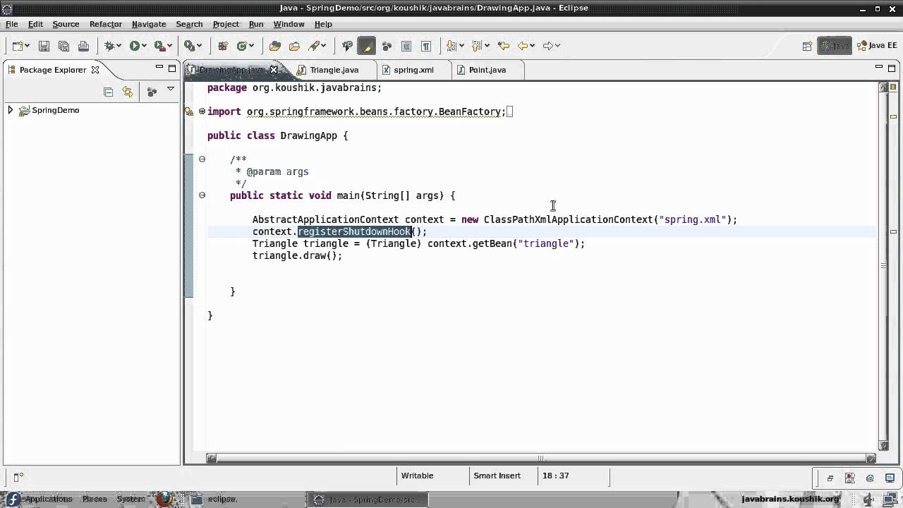 Spring tutorial 14 lifecycle callbacks youtube spring tutorial 14 lifecycle callbacks java brains baditri Gallery