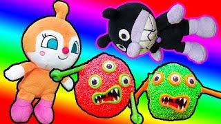バイキンマン ドキンちゃん オバケと対決!❤ アンパンマンおもちゃアニメ animation Anpanman Toy