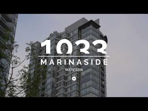 Downtown Vancouver Waterfront Condo FOR SALE (2206 - 1033 Marinaside Crescent) - Quaywest