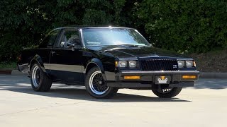 1987 Buick Regal GNX FOR SALE / 136477