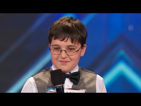 Americas Got Talent S09E01 Adrian Romoff 9 Year Old Child Genius Shows off Piano Talents