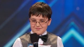 America's Got Talent S09E01 Adrian Romoff 9 Year Old Child Genius Shows off Piano Talents