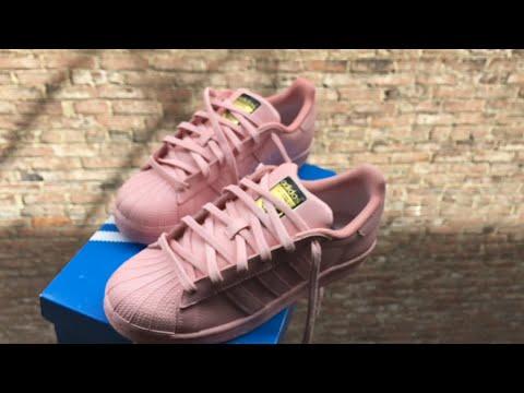 Customize PINK adidas