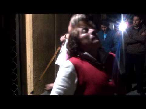 Rita Neri al momento de su liberación
