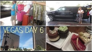 Honeymoon in Vegas: vlog day 6 ❤ June 15th 2014 (Mon Ami Gabi, Encore, Wynn, New York New York) Thumbnail