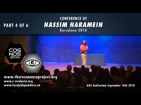 NASSIM HARAMEIN, The structure of the vacuum, and Crop Circl