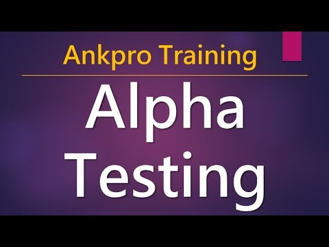 Manual testing 22 - What is Alpha testing? Why to do Alpha Testing? Phases of Alpha Testing