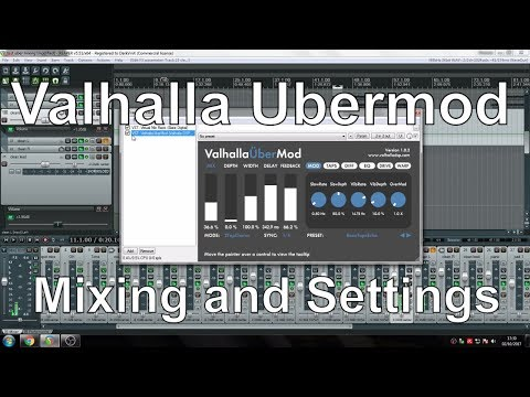 Deep Water Recordings -  Valhalla Ubermod Song Live Mixing Session