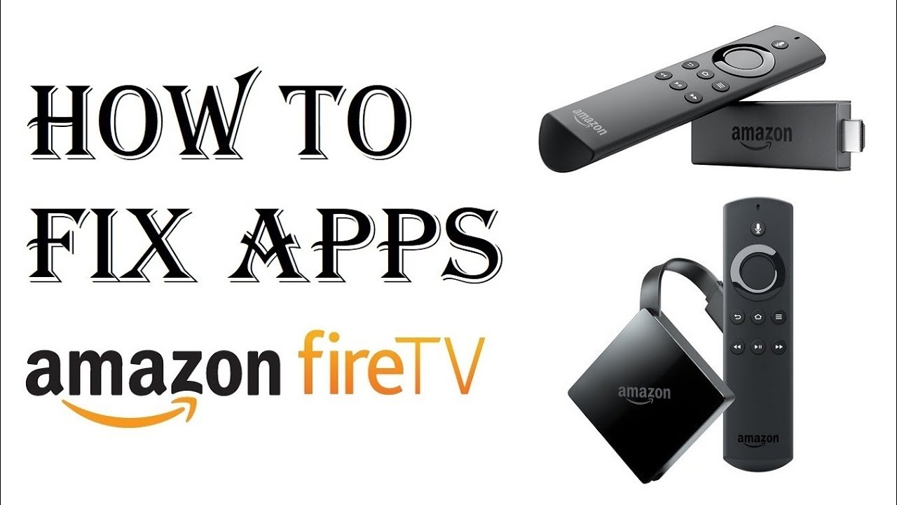 How to Fix Amazon Fire Stick TV - How to Work Unfreeze Frozen Fire Stick -  Launch Reboot Reset App