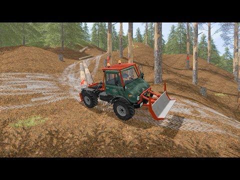 Winching logs with Unimog | Wellcome to Slovenia | Farming Simulator 2017 | Episode 4