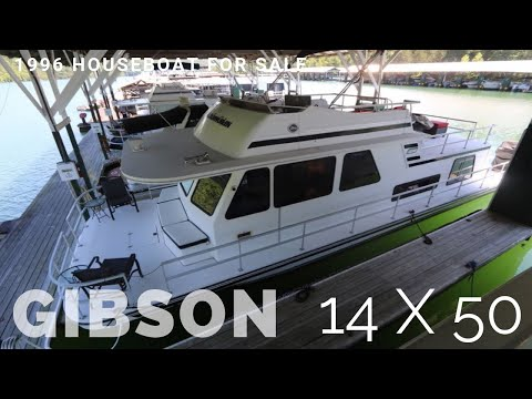 Houseboat For Sale Houseboats Buy Terry 1996 Gibson 14 X 50