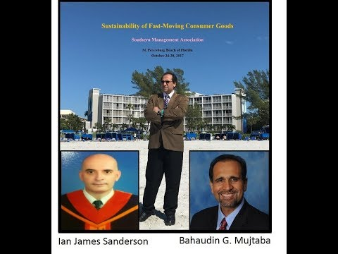 Sustainability of Fast-Moving Consumer Goods (FMCG) - SMA Conference in St Pete Beach